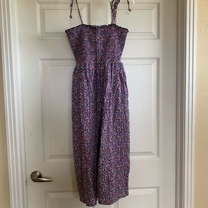 AE floral midi dress